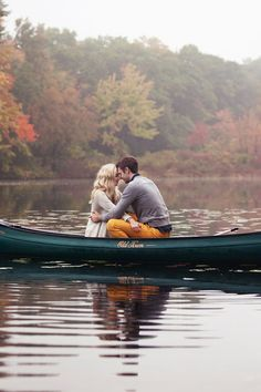 This rowboat shoot is so pretty.