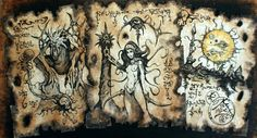 DEMONS of the DYING SUN Necronomicon fragments cthulhu occult dark art pagan magick