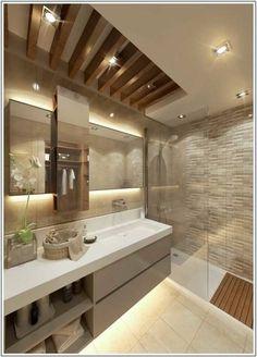 Modern Bathroom by Cct investments - cct 101 project in beylikduzu - - Bathroom Design Luxury, Modern Bathroom Design, Modern Sink, Bathroom Designs, Modern Bathtub, Modern Bathrooms, Wood Bathroom, Master Bathroom, Bathroom Ideas