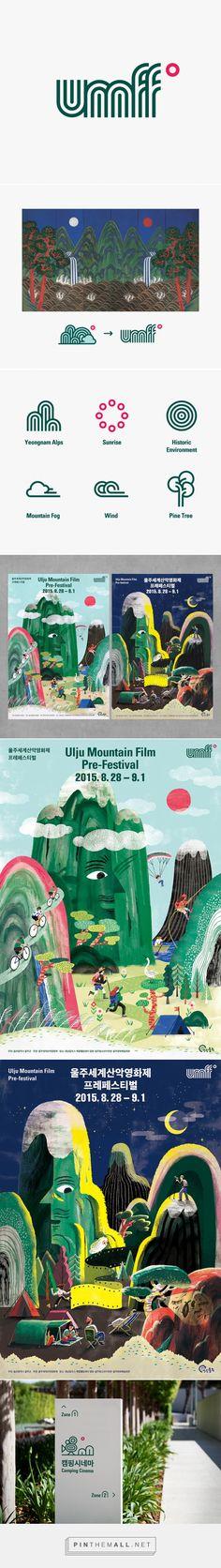 Ulju Mountain Film Festival on Behance - created via https://pinthemall.net