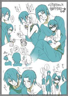Sakura and the uchiha family