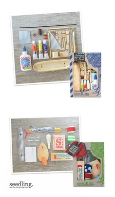 Adventures on the high seas! Make your own boat with our DIY kit and get ready for some awesome treasure hunting adventures.