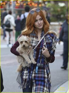 Katherine McNamara Teases Stunning Mane Addicts Shoot: Photo #907681. Katherine McNamara holds on to her cute puppy Sophie while out shopping at The Grove in Los Angeles on Thursday afternoon (December 17).    The 20-year-old Shadowhunters…