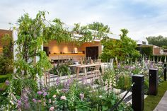 LG Smart Garden, designed by Hay Joung Hwang, constructed by Randle Siddeley, which won a Silver Gilt Medal at the RHS Chelsea Flower Show 2016.