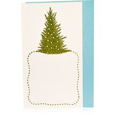 Vintage Tree & Snow Enclosure Card Set