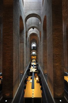 Pompeu Fabra Library, Barcelona. An architecture marvel.