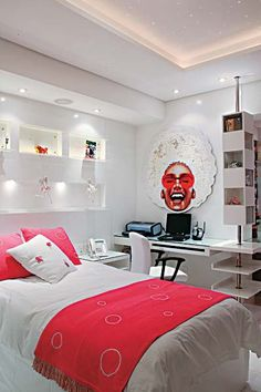 Projetos de quartos bem resolvidos atendem os desejos das exigentes adolescentes.