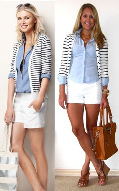 I need  to buy a striped cardi...J's Everyday Fashion: Today's Everyday Fashion: Sail Away with Me