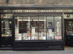 John Sandoe Books, 10 Blacklands Terrace, Chelsea; Tel: +44(0)20 7589 9473, http://www.johnsandoe.com