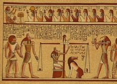 Egyptian Book of the Dead. I have a minor in Greek and Roman Civilization with a concentration in Archaeology. Love this!.