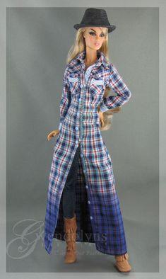 https://flic.kr/p/zRcgHL | Plaid Shirt Dress