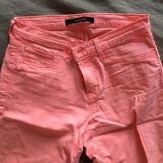 JBRAND - Pink skinny jeans JBRAND - Pink skinny jeans - very lightly worn J Brand Jeans Skinny