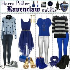 Raven Claw Outfit Gallery harry potter ravenclaw outfits in 2019 harry potter Raven Claw Outfit. Here is Raven Claw Outfit Gallery for you. Harry Potter Mode, Estilo Harry Potter, Harry Potter Cosplay, Harry Potter Style, Harry Potter Outfits, Harry Potter Fashion, Nerd Fashion, Fandom Fashion, Fashion Mode