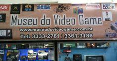 Fachada da loja Museu do Videogame