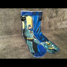Batman Socks Men Women Crew Graphic Street Hip Hop Very stunning, unique and high quality Batman socks, perfect for anyone! One Size - Fits Sizes 6-13 Check out the 16 other styles at my closet Other