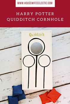 Housewife Eclectic: Harry Potter Quidditch Cornhole