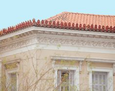 Pause a moment to look at the beauty of neoclassical Greek architectural details Neoclassical Architecture, Architecture Details, Athens City, Old Greek, Acropolis, Project 3, Greece, Places To Visit, Mansions