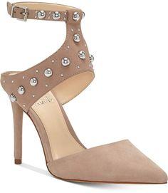 0c9239ce80d2 Vince Camuto Ledana Studded Harness Pumps Women s Shoes
