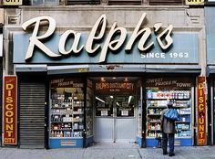 Ralph's of Chamber Street – Since 1963 – Tribeca, NYC