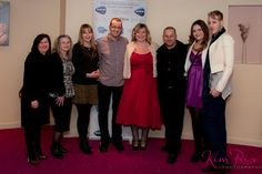 Portrait of Kevin Healey and his celebrity cast and guests. Autism Documentary premiered in London at the Odeon, Enfield.