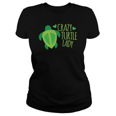 (Top Tshirt Sale) Crazy Turtle Lady at Sunday Tshirt Hoodies, Tee Shirts