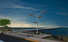 Árvore Solar para alimentar bicicletas elétricas será inaugurada na UECE - Universidade Estadual do Ceará