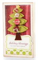 Holiday Blessings Card by @Betsy Veldman - supplies and instructions included