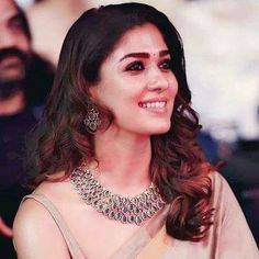 Nayanthara looks gorgeous in saree and also her flawless hair look was adorable. Nayanthara Hairstyle, Sai Pallavi Hd Images, Looking Gorgeous, Beautiful, Actor Photo, Celebs, Celebrities, Fine Hair, Indian Bridal