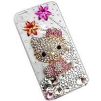 I would like to say how pretty this hello kitty phone case is... It's very girlie and has lots of bling. I would suggest this for hello kitty lovers, such as myself.! Available at Amazon http://twentyfinds.com/Find/244747