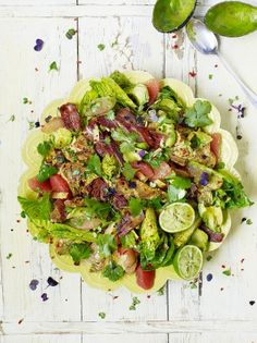 Jamie's LA Style Turkey Salad is ideal if you're looking for leftover turkey…