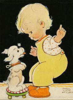 /robbette/art-vintage-childrens-illustrations-story-art/ ..............over 500 pins, BACK!!!!!!!!.......Original Illustration & Watercolor by Mabel Lucie ATTWELL