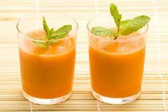 Batido de zanahoria y manzana