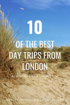 For me, the best day trips from London have to have 3 characteristics; 1) are less than a 2 hour journey from London 2) be interesting 3) have good food (though really, that goes without saying). As we're typical Londoners who don't need a car everyday, I've compiled a few of my favourite more public transport friendly trips where I can sink into a good book for a decent length of time. Heaven. #London #DayTrips #Adventures of a LondonKiwi Day Trips From London, Things To Do In London, London Travel, Travel Europe, Ways To Travel, Travel Tips, Best Uk Holidays, London Restaurants, Public Transport