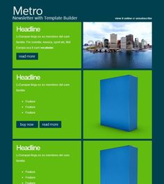 40 Best HTML Email Newsletter Templates