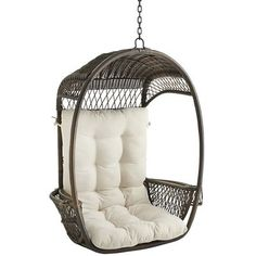 Swingasan® Cushion - Ivory Pier One I so want a set of these for my patio