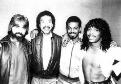 James Ingram, Michael McDonald, Lionel Richie & Rick James