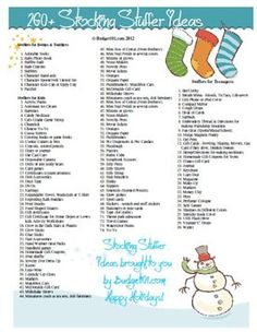 260+ Stocking Stuffer Ideas for All Ages