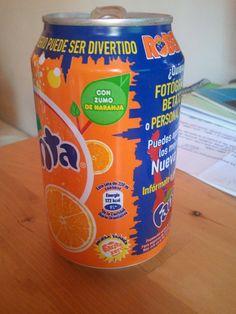 Orange Fanta plan Robertus