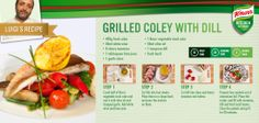 Fancy a fish dish? Luigi's Grilled Coley with Dill should hit the spot!