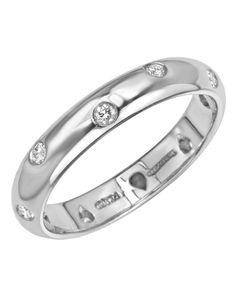 Tiffany & Co. LU Etoile Platinum Diamond Ring