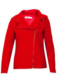 Casaco Colcci Comfort Fivela Vermelho