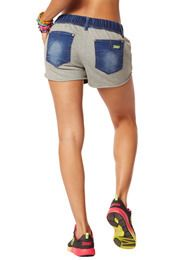 Save 10% off anything on zuumba.com with coupon code 10SALE. Dynamic Denim Shorts | Zumba Wear