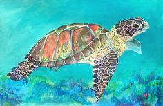 Chalk Art Turtle Street Art, Get outside with your kids this Spring and Summer and play with chalk! These Sidewalk Chalk Drawing, Sea Turtle Painting, Sea Turtle Art, Turtle Rock, Sea Turtles, Easy Chalk Drawings, Art Drawings, Drawing Art, Chalk Art Quotes, Swimming Pictures
