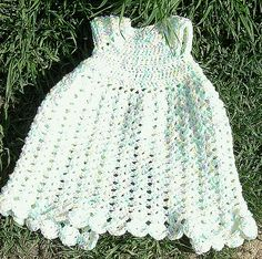 "Ravelry: Preemie Angel Shell Gown free crochet pattern by Beth Parsons on Ravelry. This could be modified to fit a 18"" doll."
