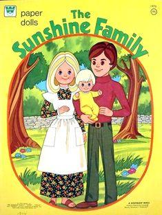 Paper Dolls~The Sunshine Family - Bonnie Jones - Picasa Web Albums