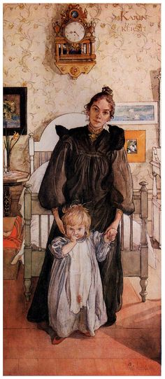 I love Carl Larsson's work!  Karin and Kersti - Carl Larsson