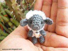 Tiny  Sheep - Grey Baby Sheep - Plush Sheep Toys - Sheep with Rattle - Made To Order. $22.00, via Etsy.