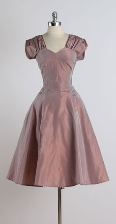 Georgica. vintage 1950s dress . vintage by millstreetvintage