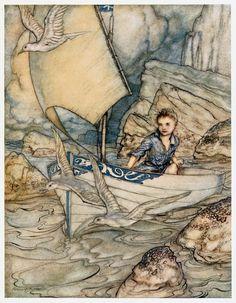 53 件のおすすめ画像(ボード「Arthur Rackham」) | アーサーラッカム、挿絵、イラスト