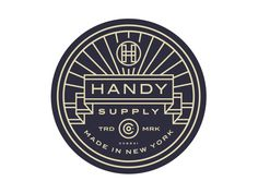 Handy Supply Co. Badge /// By Steve Wolf
